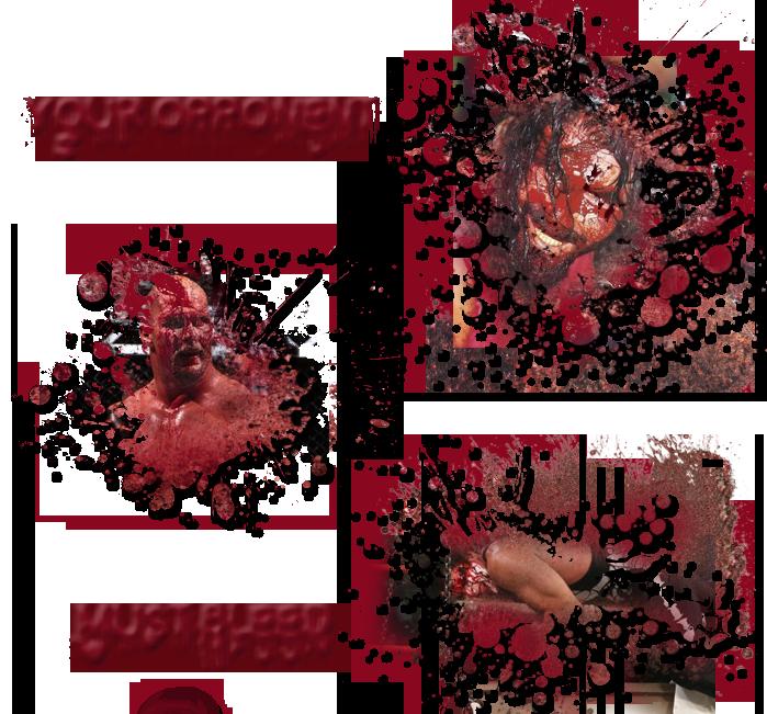 Extreme Championship match Blood