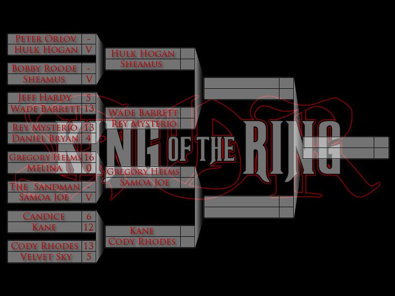 Carte King Of The Ring [Tour n°2] Kotr2012